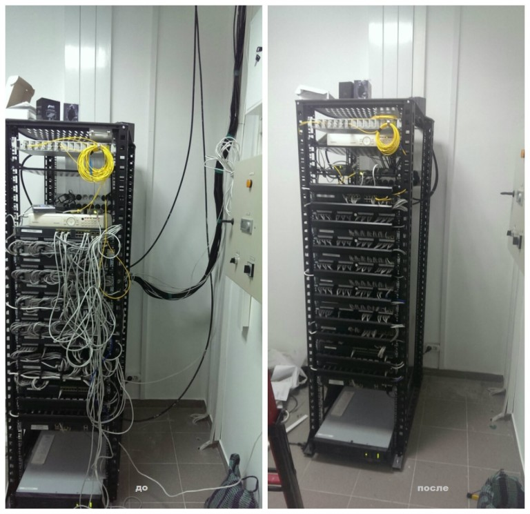 коммутационный шкаф