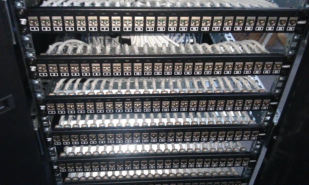 Патч-панель структурированной кабельной системы